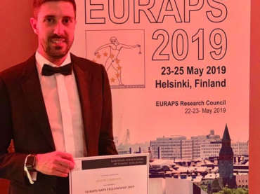 EURAPS 2019 a Helsinki e premio EURAPS/AAPS fellowship 2019 award